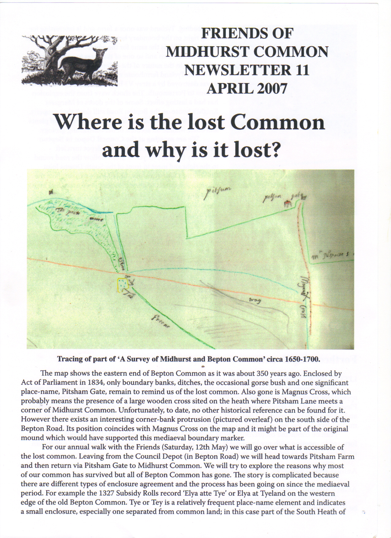 Where is the lost common and why is it lost?