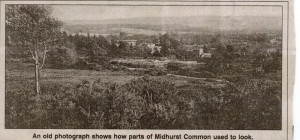 Old photo of Midhurst Common
