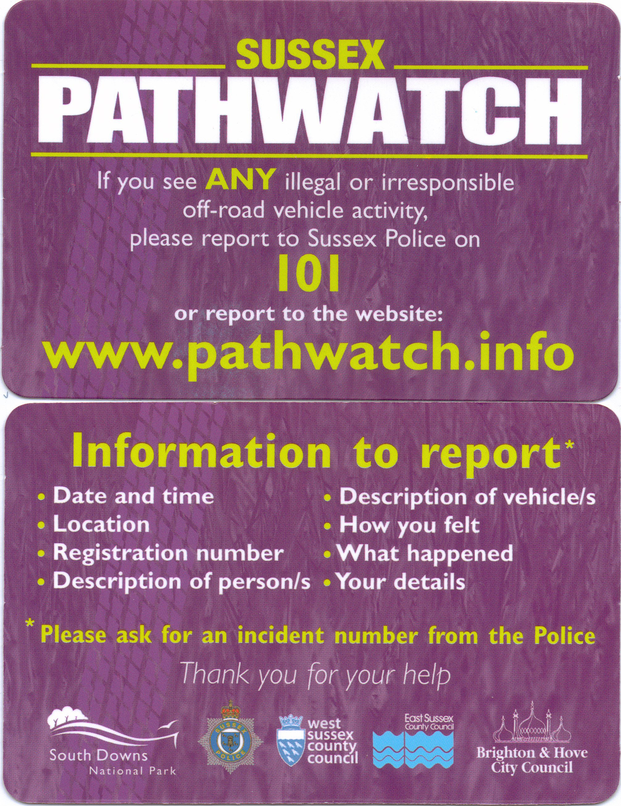 Pathwatch enhanced 2014